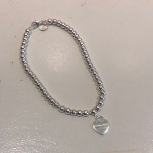 Tiffany & Co. silver heart bracelet